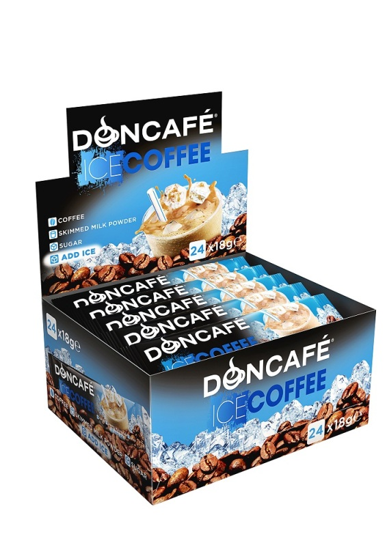 Doncafe Lanseaz Noul Mix Doncafe Ice Coffee