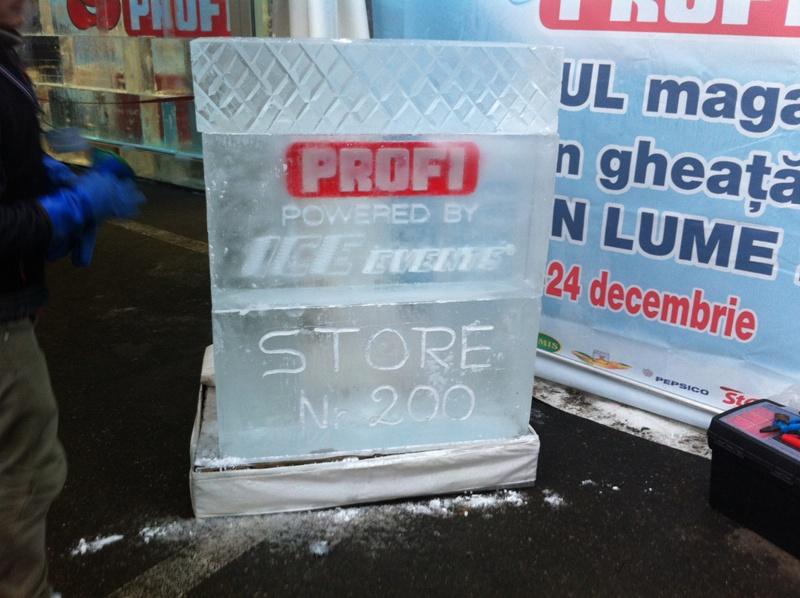 Profi Ice Store, Supermarket Unik yang Membungkus Semua Barangnya dengan Es