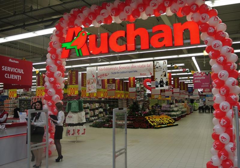Auchan inaugureaz al doilea hipermarket din cluj napoca for Email auchan