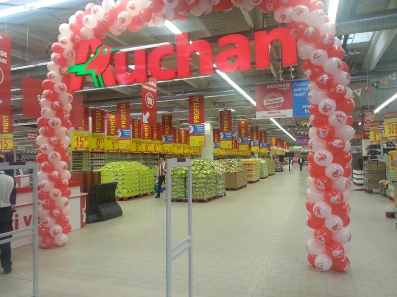 Auchan va inaugura m ine la pite ti al doilea magazin din ora for Email auchan