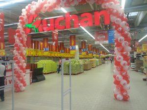 poza Auchan Gavana