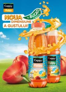 Cappy Pulpy cu bucati de fructe
