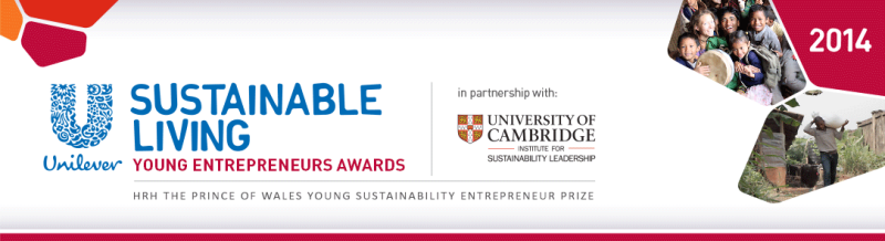 LOGO-Unilever Sustainable Living Young Entrepreneurs 2014