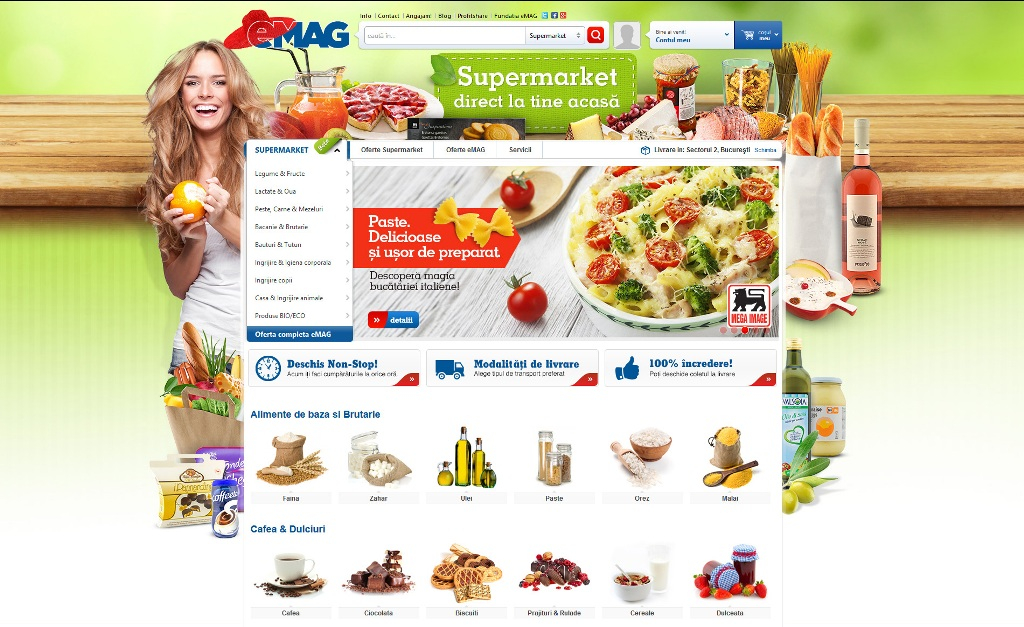 Supermarket direct la tine acasa