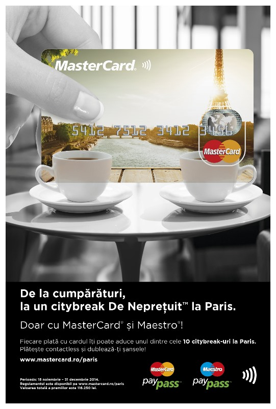 Paris-campanie MasterCard & Maestro-Portrait