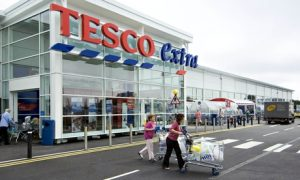 Tesco Extra store in Haverfordwest