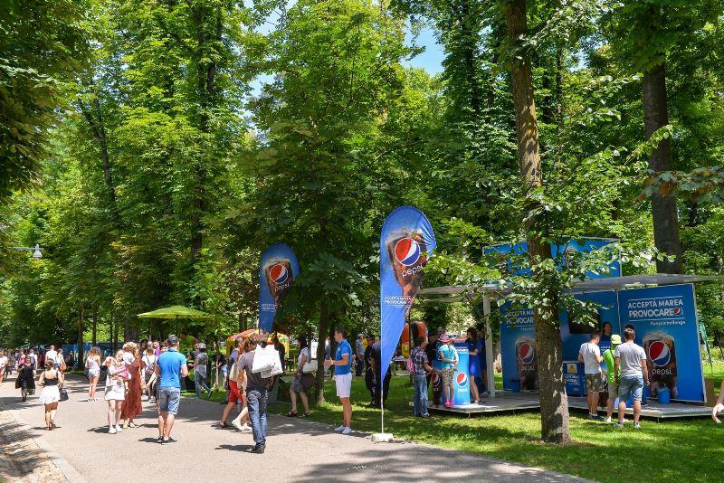 Accepta Marea Provocare Pepsi-Jazz in the park-Cluj