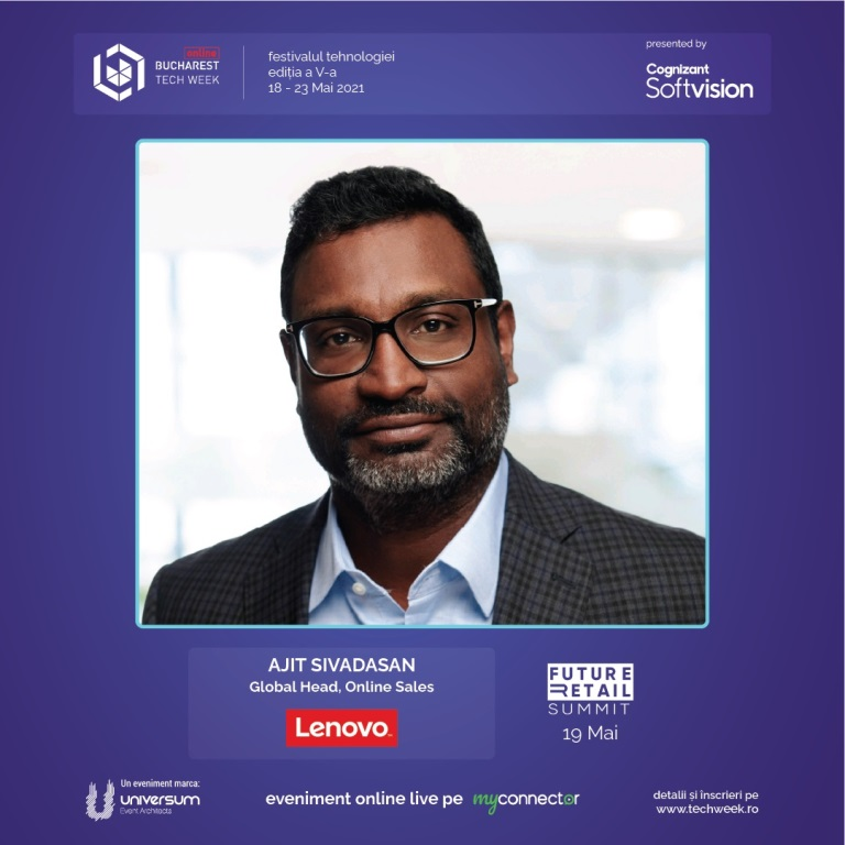 Ajit Sivadasan, Global Head, Online Sales at Lenovo