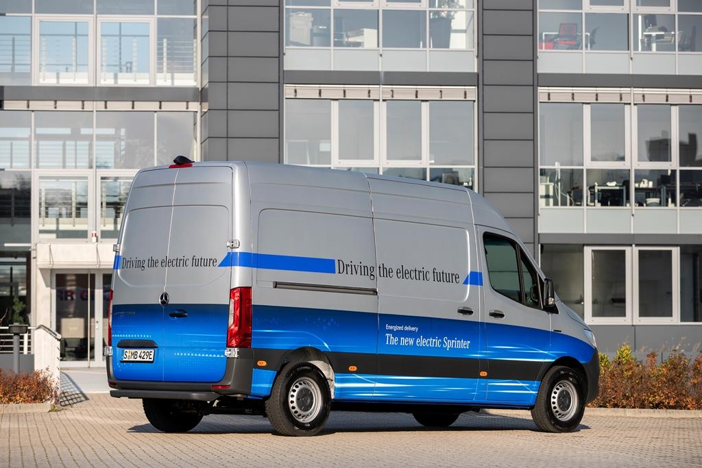 Mercedes-Benz eSprinter Furgon