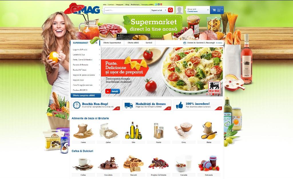 Mega Image - eMAG